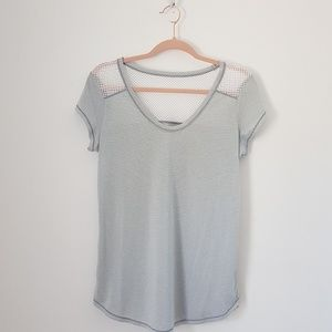 Z by Zella Short Sleeve Active Top Medium /C0